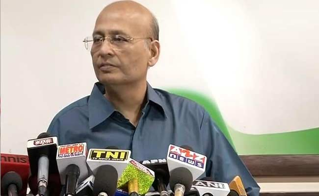 There Is Anti-BJP Political Space In West Bengal: Abhishek Manu Singhvi