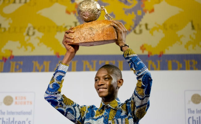 Liberian Teenager Awarded Kids Peace Prize