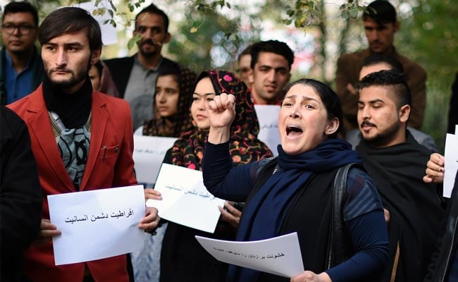 Afghan Activists Hold Protest After Woman is Stoned to Death