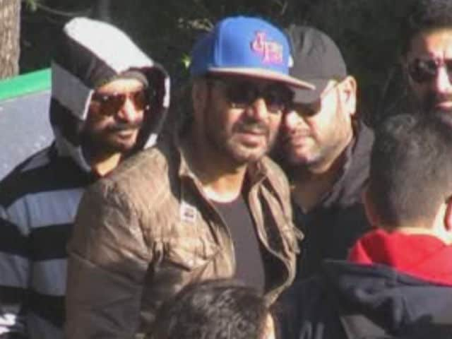 Ajay Devgn Arrives in Mussoorie to Film Shivaay