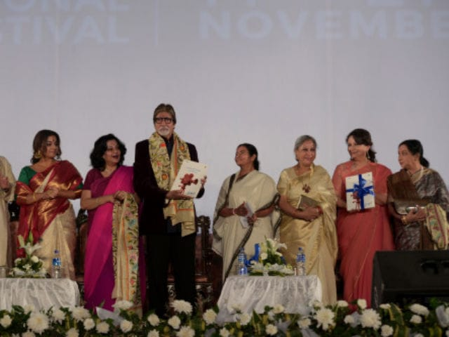 Amitabh Bachchan Inaugurates 21st Kolkata International Film Festival