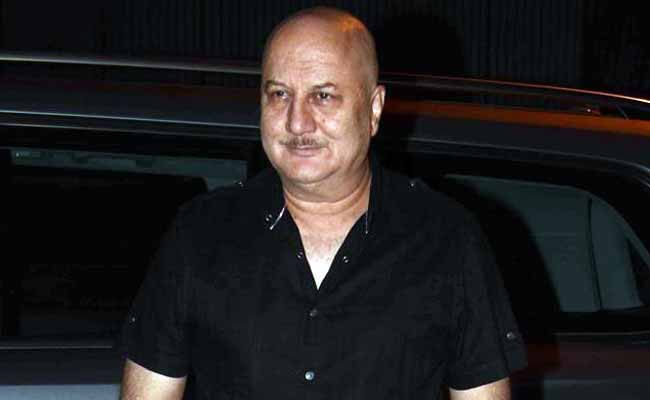 Only Rich And Famous Talk Of Intolerance, Says Anupam Kher