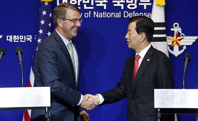 US, South Korea Defence Chiefs Discuss North Korea Threats