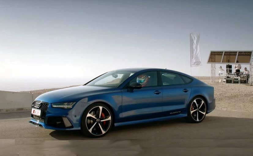 Audi Rs7 Sportback Goes Up Against One Of The Fastest