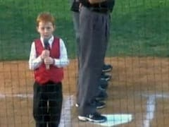 Kid Gets Hiccups While Singing Australian Anthem