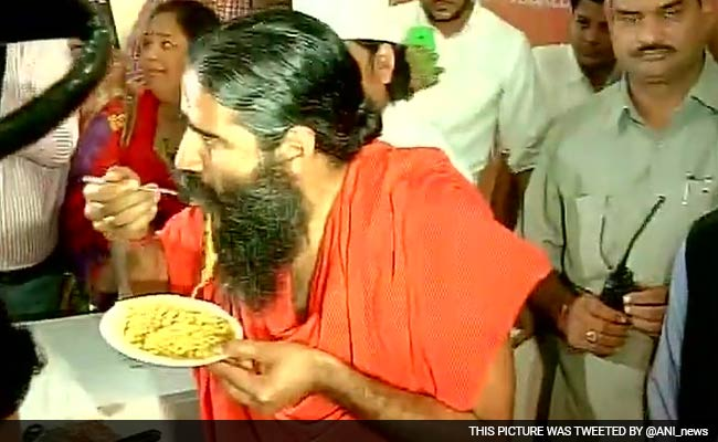 Yet to Receive Food Safety Regulator Notice on Patanjali Noodles: Ramdev