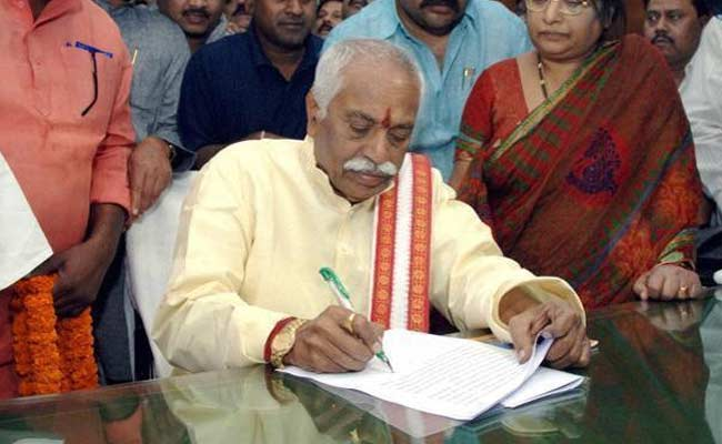 Read Minister Bandaru Dattatreya's Letter To Smriti Irani On Hyderabad University