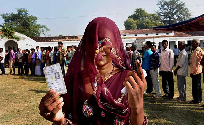 Over 50% turnout in Bihar bypoll