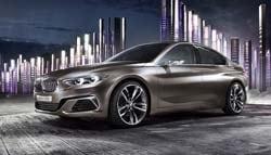 2015 Auto Guangzhou: BMW Concept Compact Sedan Revealed