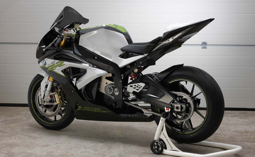BMW Motorrad Reveals eRR Electric Supersport Bike  NDTV CarAndBike