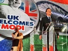 At Wembley, David Cameron Talks About <i>'Achhe Din'</i> Under PM Modi
