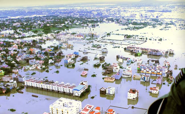 12 Infants Among 22 Airlifted From Flood-Hit Chennai