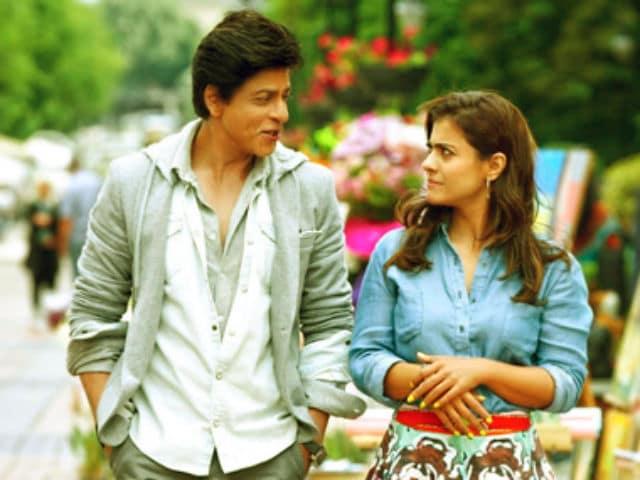 Shah Rukh Khan Facepalms Kajol and the Dilwale