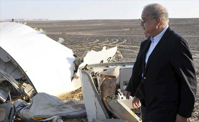 At Egypt Crash Scene, Suitcases Piled Near Charred Wreckage