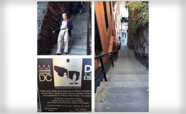 The Exorcist Steps Made Official Tourist Attraction