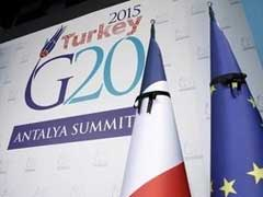 G20 Says Rise in Global Acts of Terrorism Endangers Economy and Peace