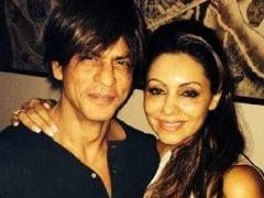 On Shah Rukh Khan's 50th Birthday, Wife Gauri Posts a Rare Selfie