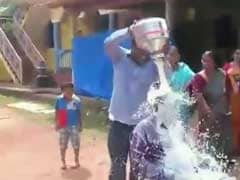 Congress, BJP Spar Over Goa Municipal Councillor's Milk Bath