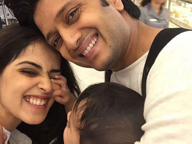 Genelia, Riteish Celebrate Son Riaan's Birthday With This Lovely Pic