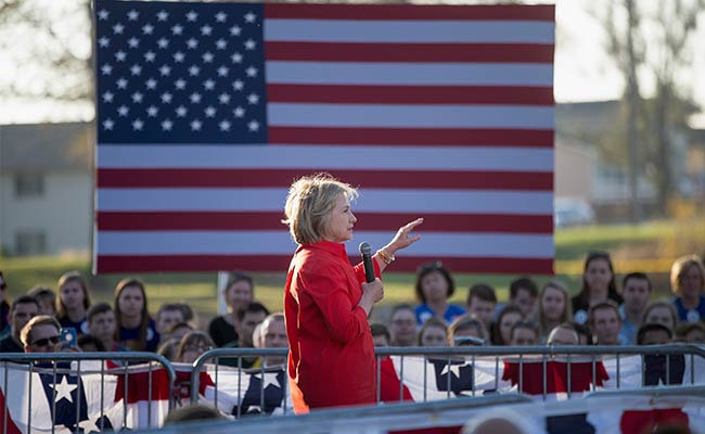 Democrat Hillary Clinton Raises $55 Million In Fourth Quarter: Campaign
