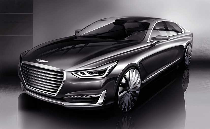 Hyundai Teases the G90  the First Sedan to Come Out of Its