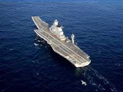 INS Vikramaditya, India's Largest Naval Ship, Arrives In Sri Lanka