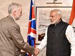 Labour Party Leader Jeremy Corbyn Meets Prime Minister Narendra Modi
