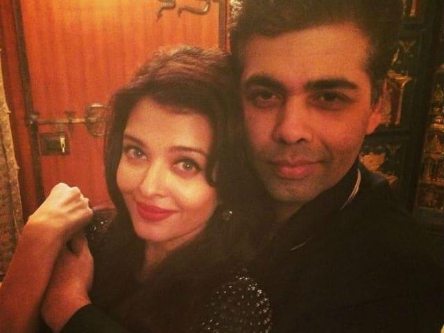 Karan Johar: Absolutely Wonderful to Work With Aishwarya Rai