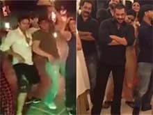 Shah Rukh, Salman Dance For Each Other in Khan Double Whammy Dubsmash