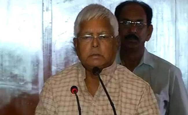 Bihar Results Reflect People's Anger Against PM Modi: Lalu Yadav