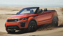 Land Rover Evoque Convertible Revealed