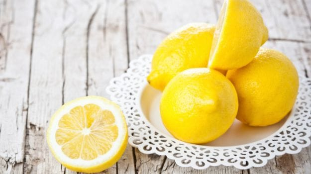 Use lemons for glowing skin