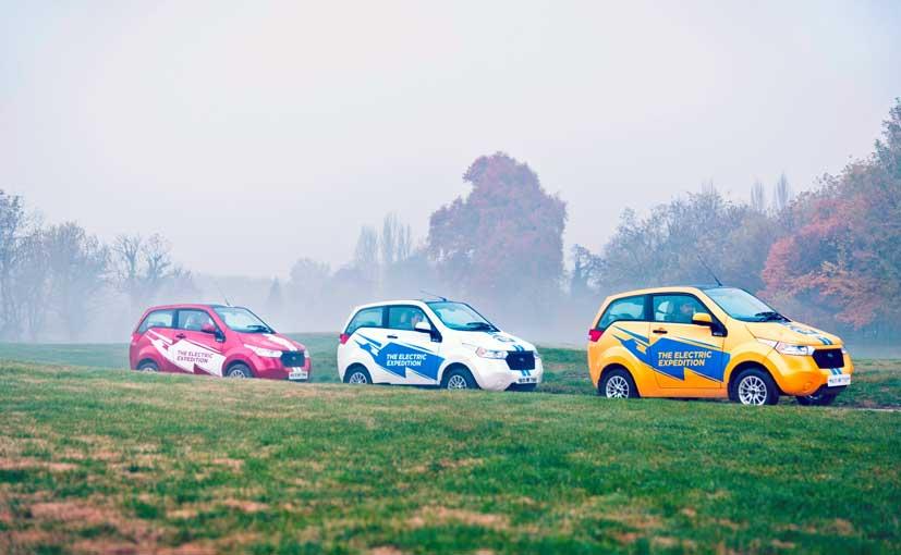 Mahindra Reva Flags-Off Goodness Drive