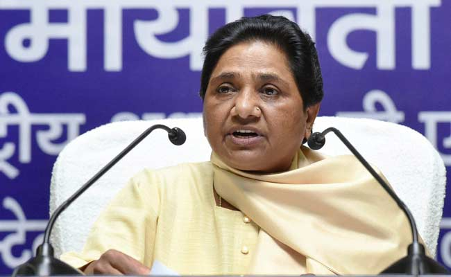 BSP Will Fight 2017 Uttar Pradesh Elections Alone: Mayawati