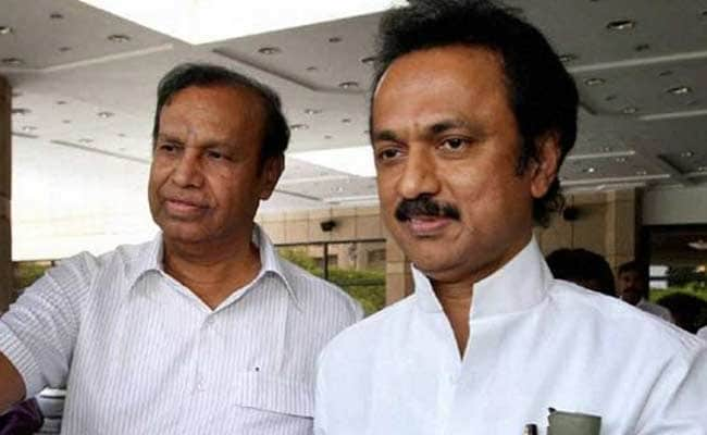 DMK Chief Karunanidhi's Health Stable, Says Son MK Stalin