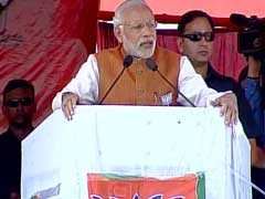 PM Modi Kicks Off Campaign In Poll-Bound Assam With 5 Rallies Today