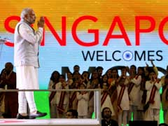 My Only Task is Development: PM Modi Tells Indian Community in Singapore