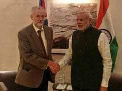 British Opposition Leader Meets PM Narendra Modi
