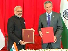 10 Pacts Signed as India, Singapore Elevate Ties to Strategic Partnership