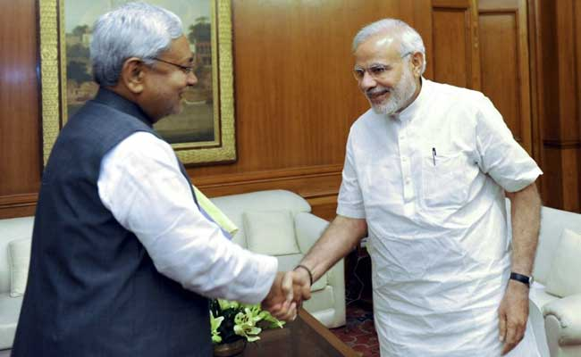 For First Time Since Make Up, Nitish Kumar And PM Modi To Appear Together