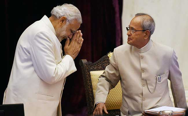 'Like A Father': PM Modi Turns Emotional At Event For President Pranab Mukherjee