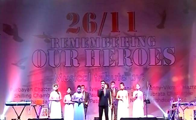 At Mumbai's Gateway, a Sombre Musical Tribute to 26/11 Heroes