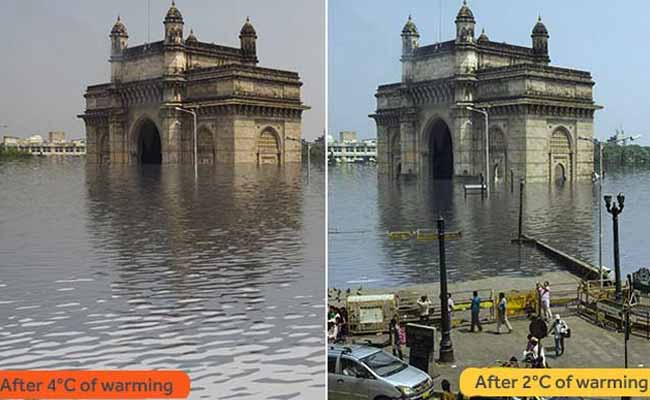 Is This Our Future? Artist Creates Terrifying Pics of a Drowning Mumbai