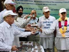 Army Veterans Hold Rally in Ambala Against One Rank One Pension 'Dilution'