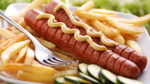 peru french fries sausages 625