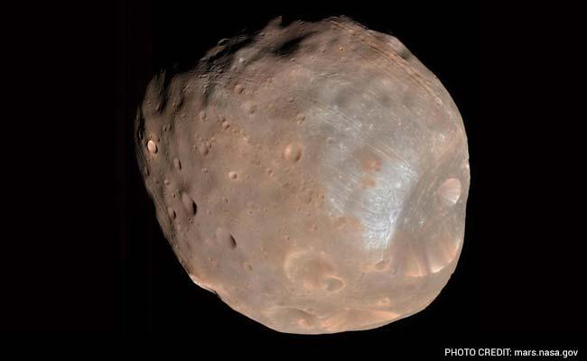 NASA Orbiter Avoids Collision With Mars Moon Phobos