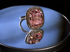 Rare 'Raj Pink' Diamond At Sotheby's Upcoming Jewels Sale