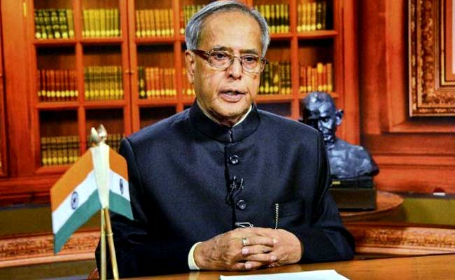 President Pranab Mukherjee To Pay 2-Day Visit To Jharkhand From January 9