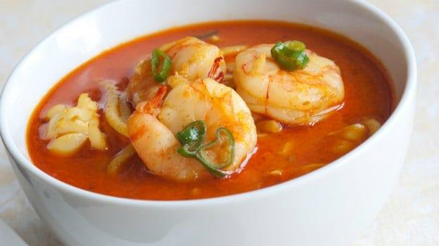 Prawn Potato Soup