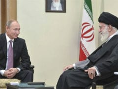 Iran Leader Hosts Valdimir Putin, Says US Policies Threaten Tehran, Moscow